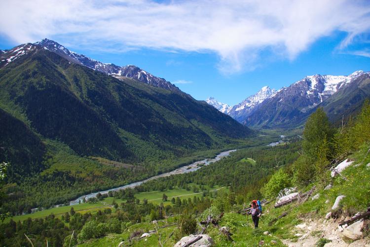 4 день. Подъем на перевал Кизил-Ауш (2879 м)