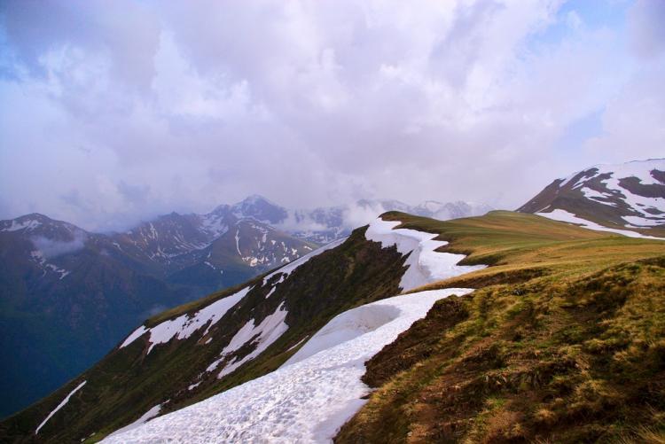 Перевал Озерный.