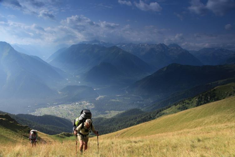 2 день. Подъем на перевал Баритовый (2900 м)