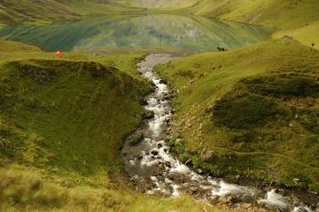 5 день. Идем к озеру Кизил-Ауш.