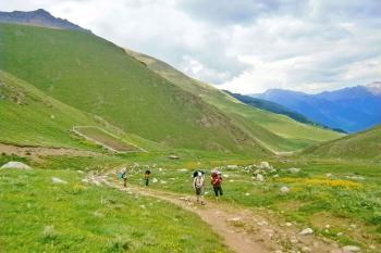 2 день. Подъем на превал Мухинский (2764 м)