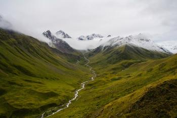 7-й день. Ущелье реки Исламчат.